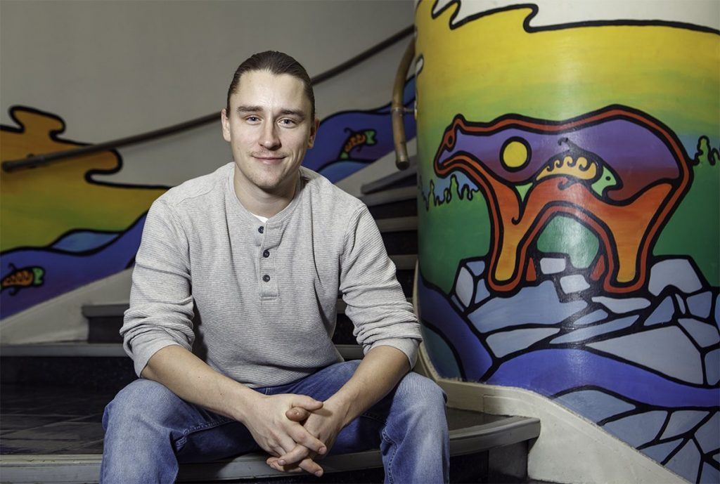 Ryan Decaire at Centre for Indigenous Studies