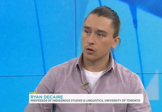 Ryan Decaire on CTV Your Morning